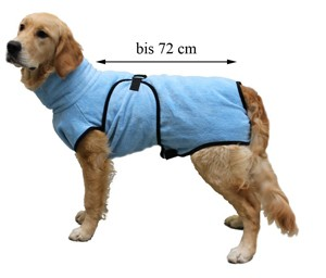 Bademantel für Hunde Familyzoo